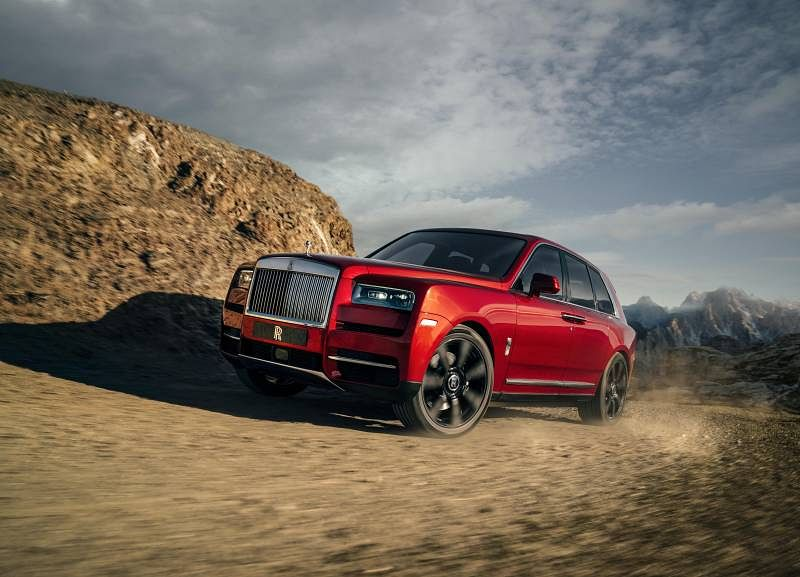 Rolls-Royce reveals its first ever SUV, the Cullinan