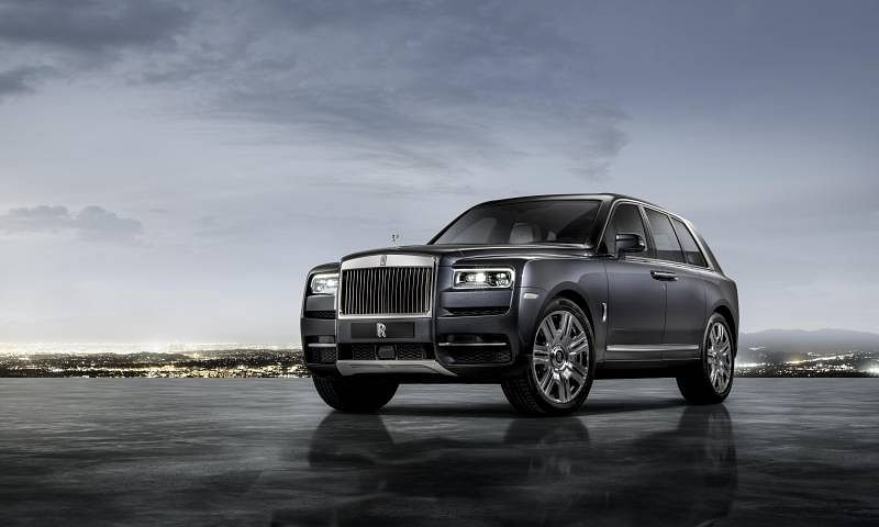 Rolls-Royce Cullinan launched