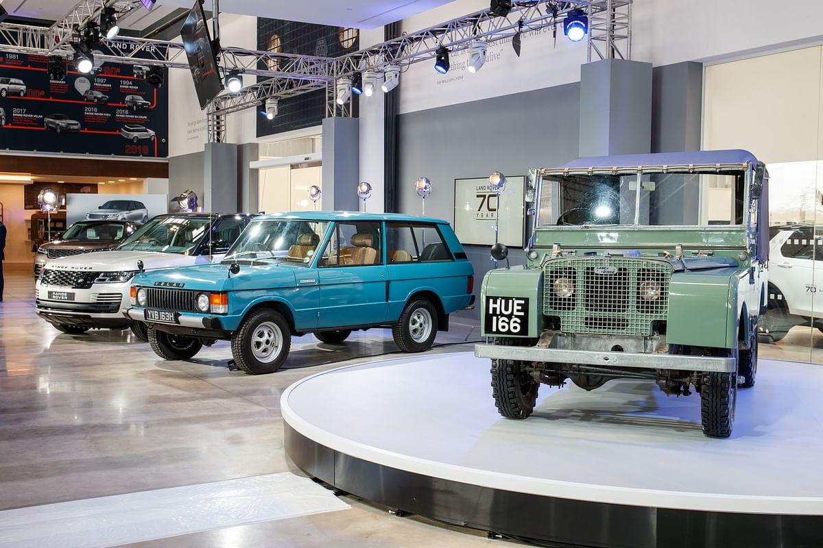 Land Rover celebrates 70th anniversary in a unique way
