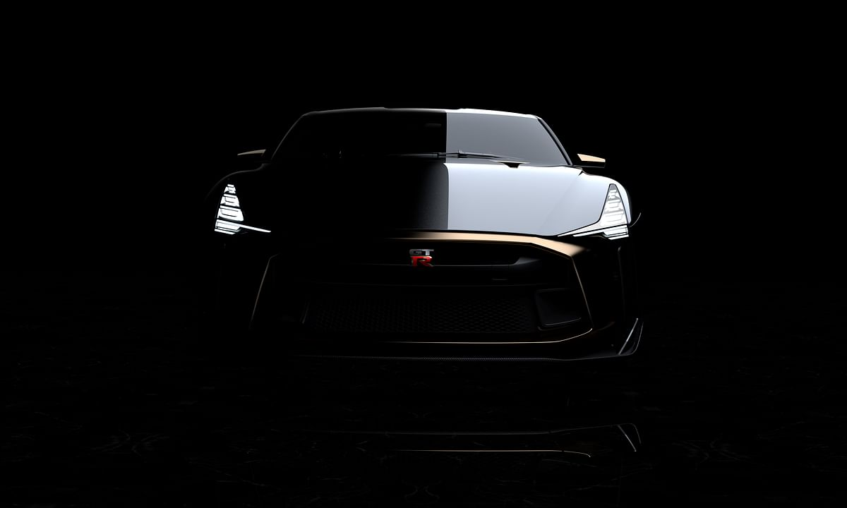 Nissan and Italdesign unveil the GT-R50 prototype.