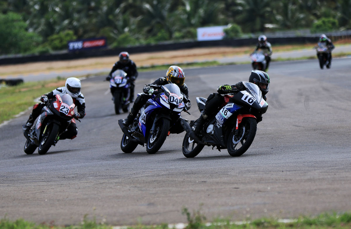 Opening day: Rolon Round of INMRC 2018 at Kari Speedway ends with a bang