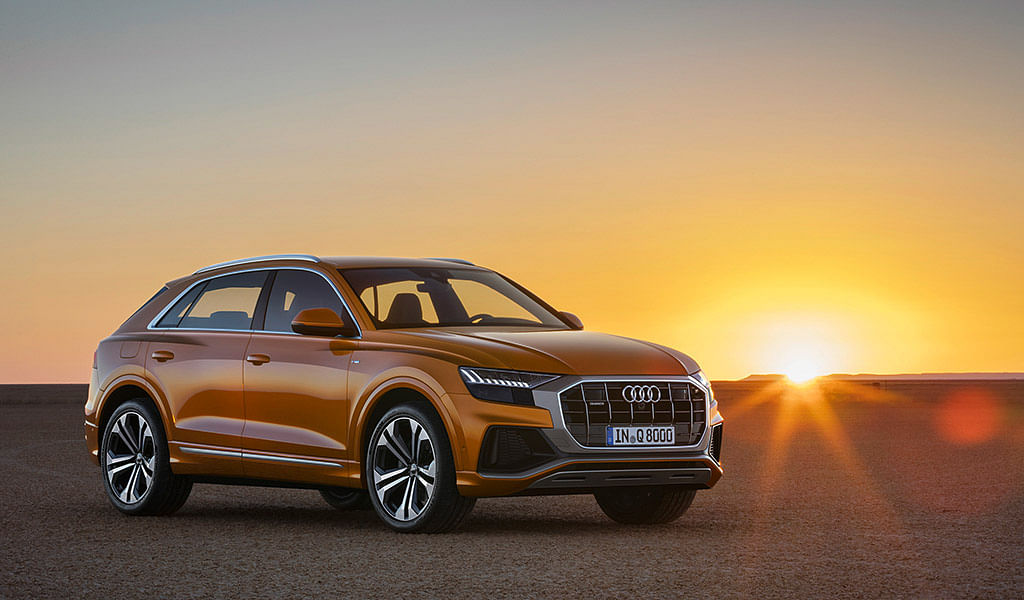 Audi reveals its flagship SUV, the Q8
