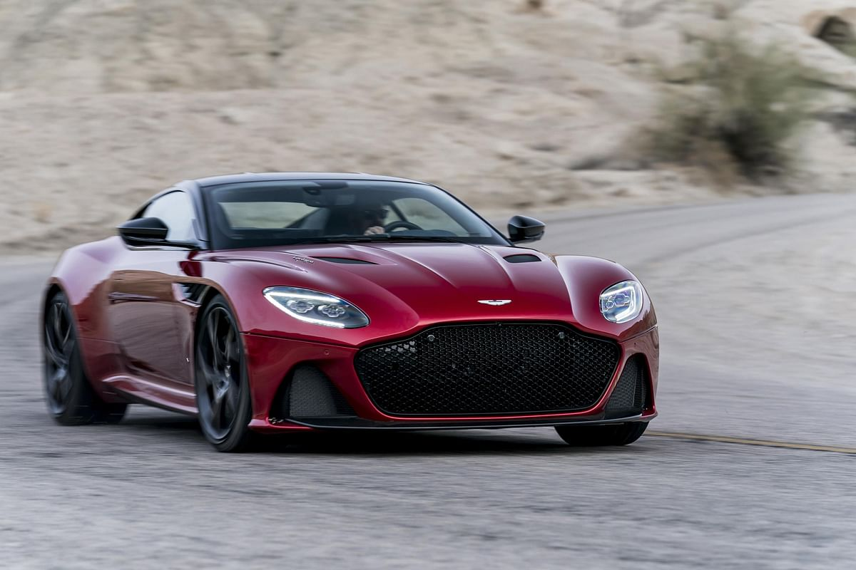 Aston Martin launched its new flagship Super GT: DBS Superleggera