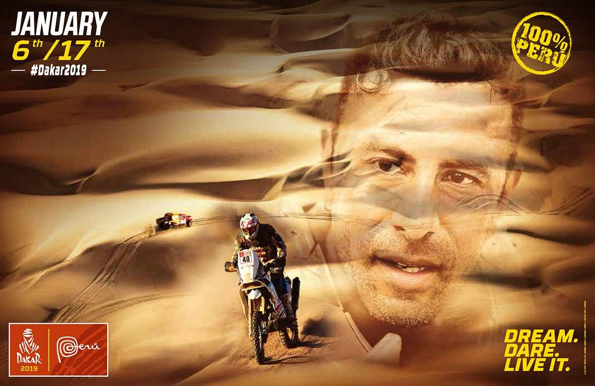 Dakar 2019 will begin on January 6 in Peru