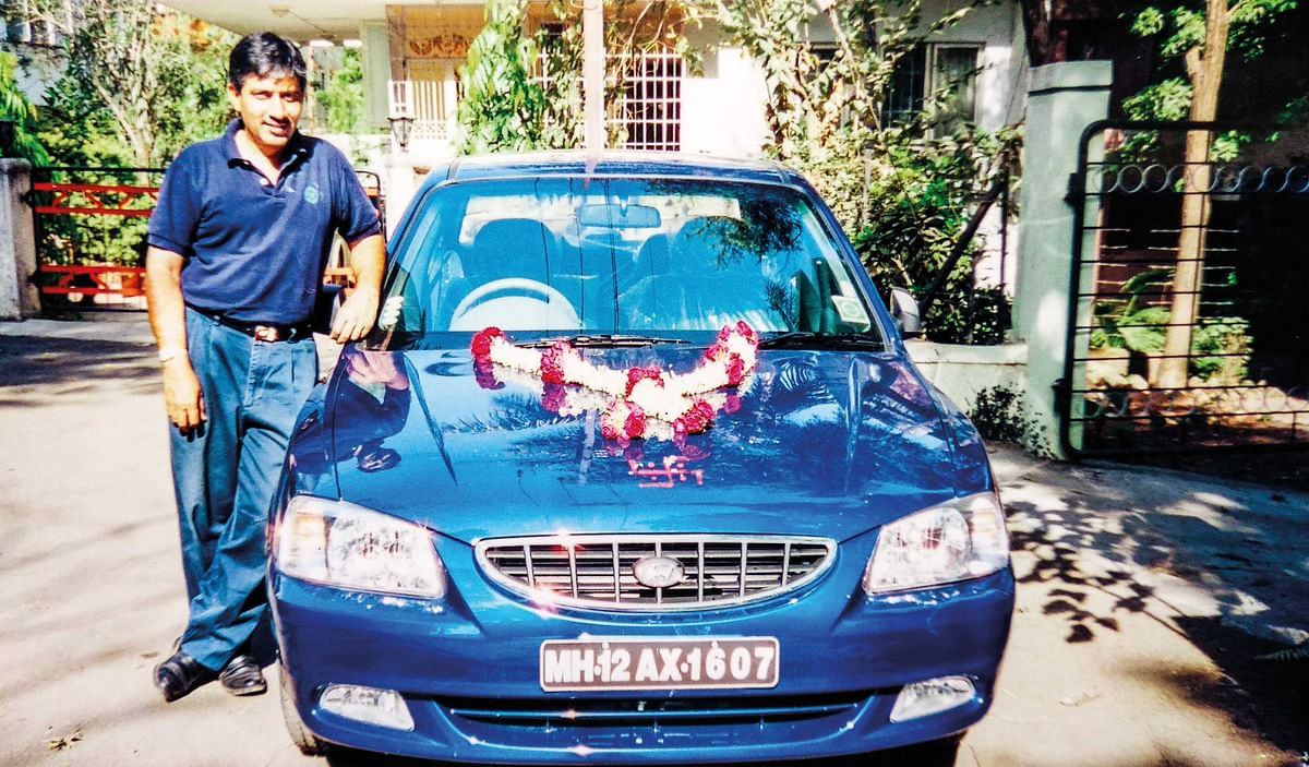 Ajay is all gung-ho about his prized 2001 Hyundai Accent and treats it like his best friend