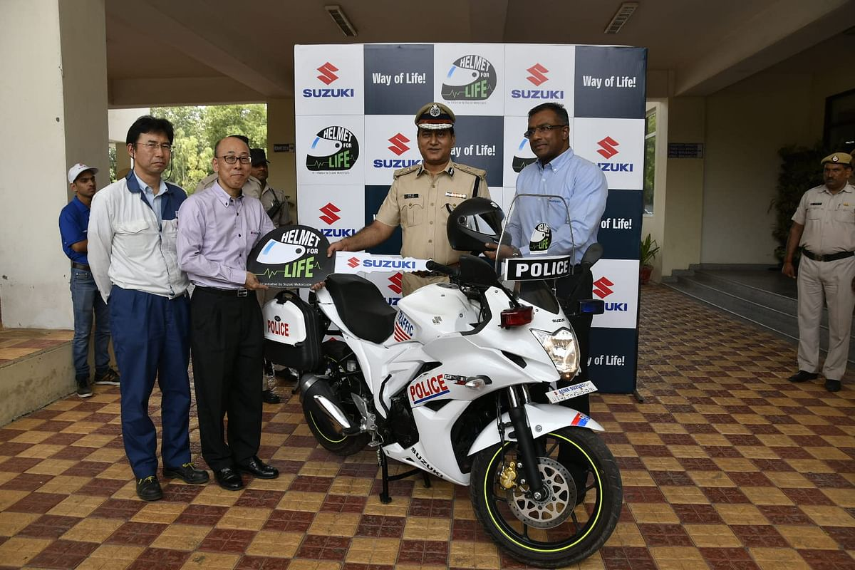 Suzuki begins second stage of safety campaign with '#Helmetforlife