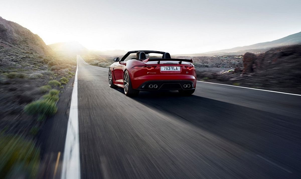 Jaguar India opens bookings for the F-Type SVR