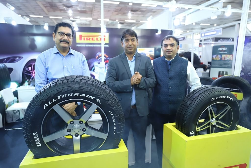 Pirelli launches Cinturato P6 and Scorpion AT Plus tyres at the Tyre Expo India 2018