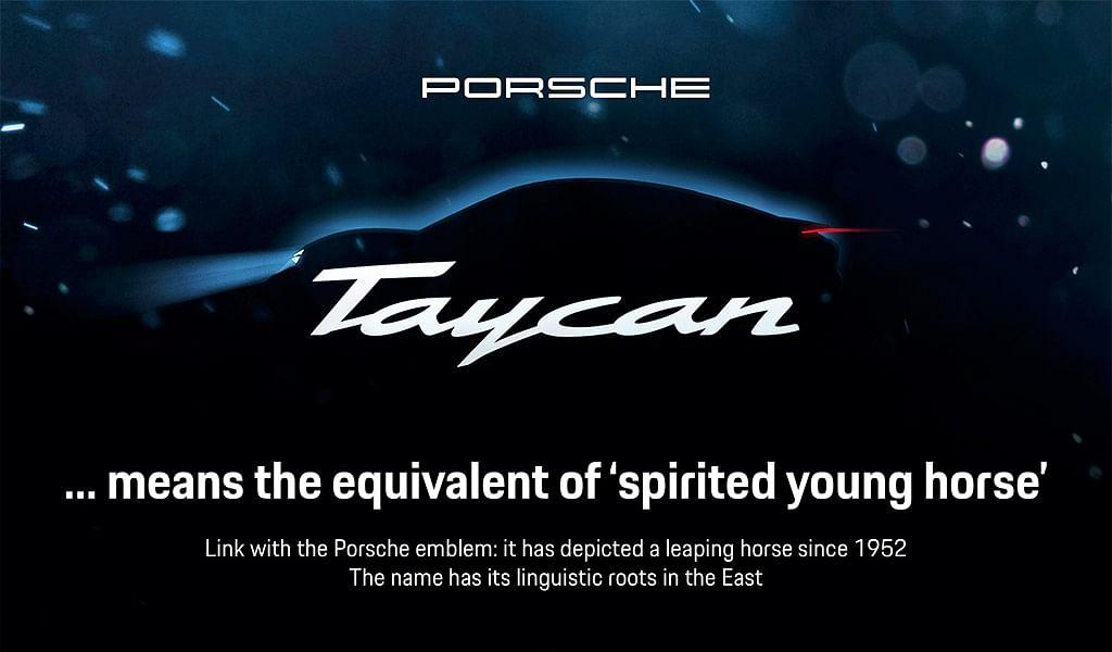 Porsche Mission E concept car is now Taycan