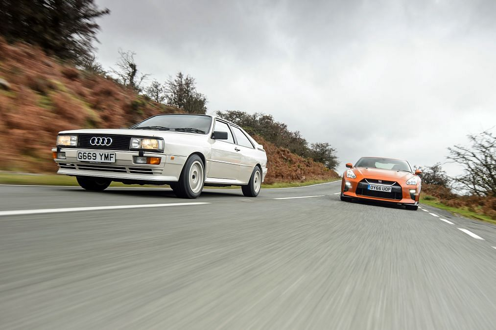 Face-off: Quattro vs Godzilla, old vs modern four wheel drive technology