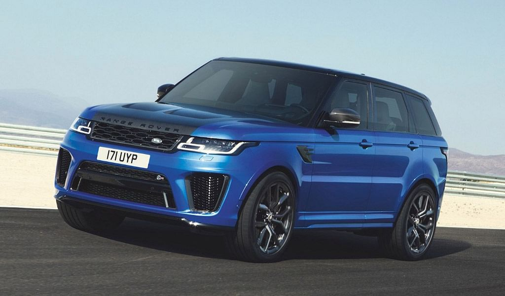 Now you can book the fastest Range Rover made, here in India