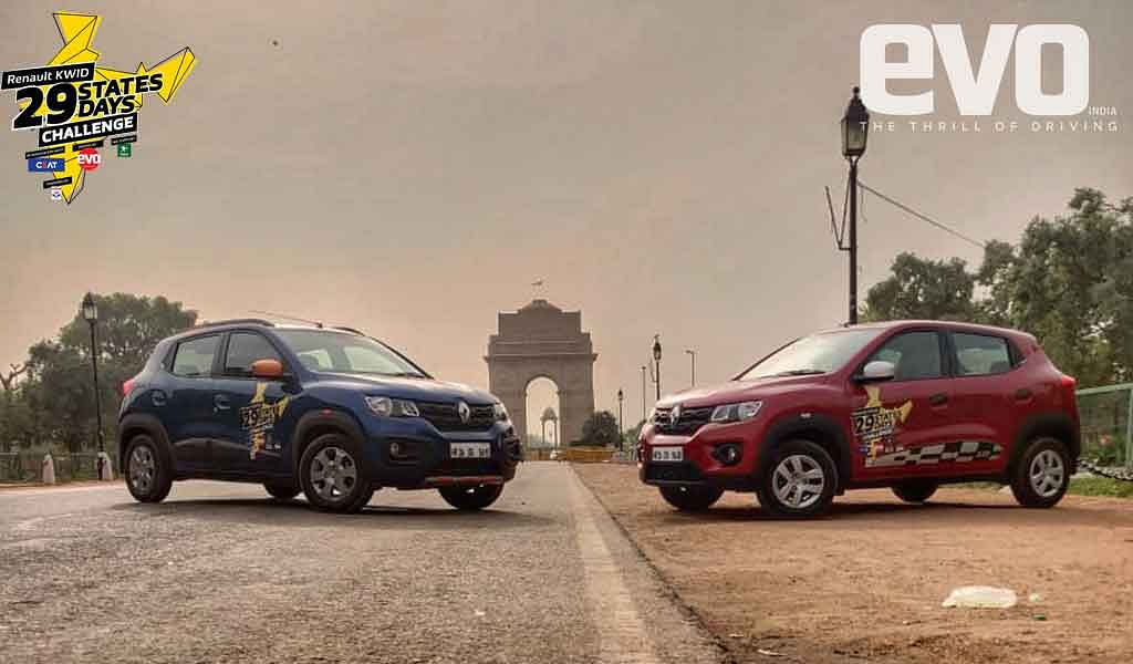 Day 1 – The Renault Kwid heads northwest from Delhi