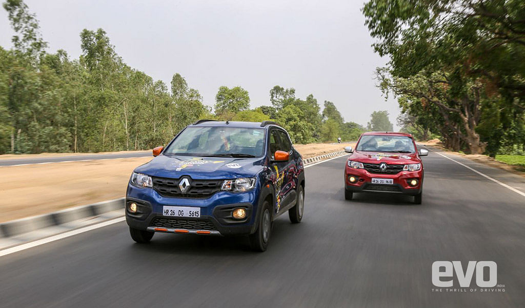 Day 4 – The Renault Kwid passes through never ending Uttar Pradesh