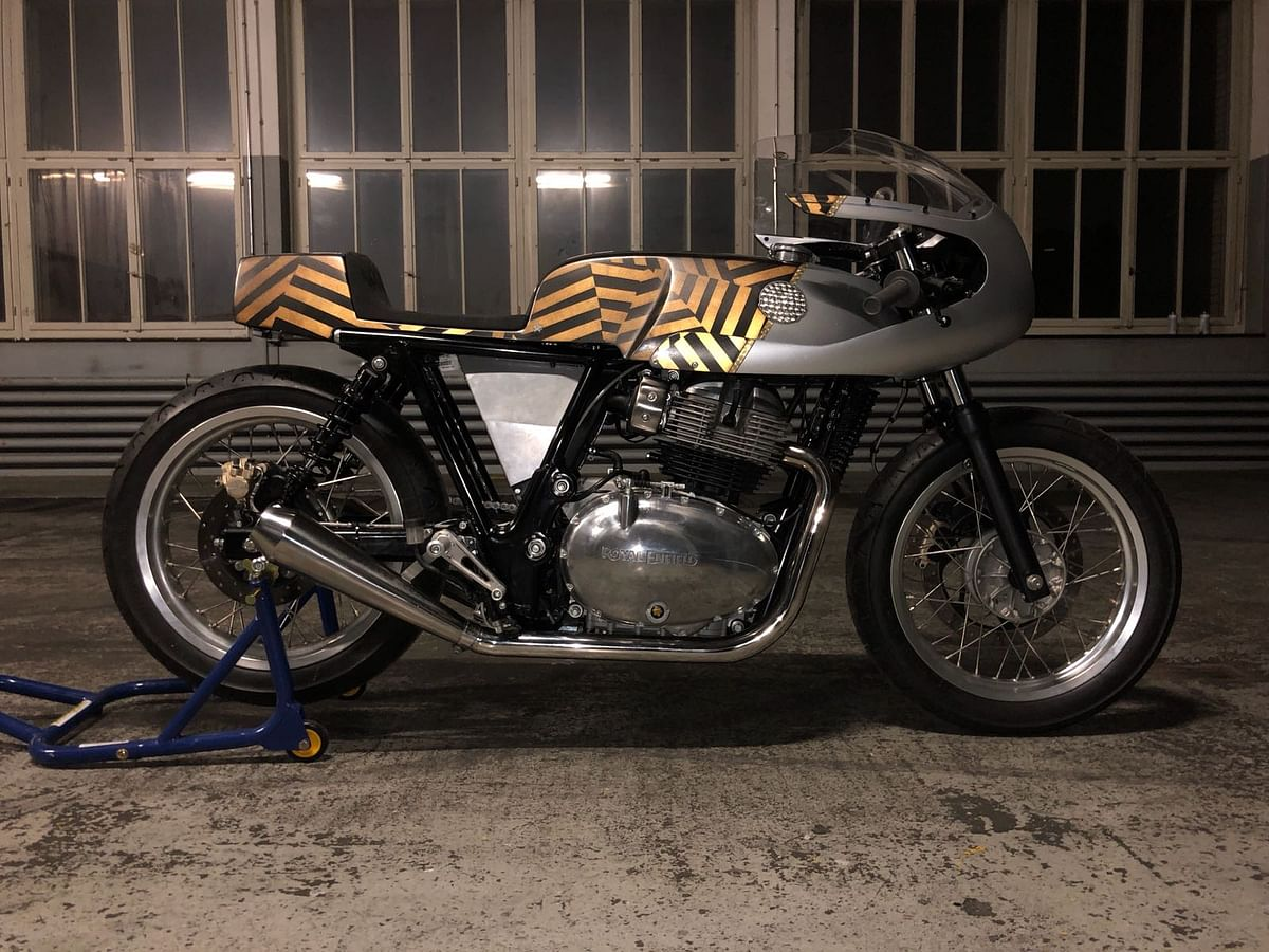 Fancy some custom-built RE 650s? Royal Enfield has your back