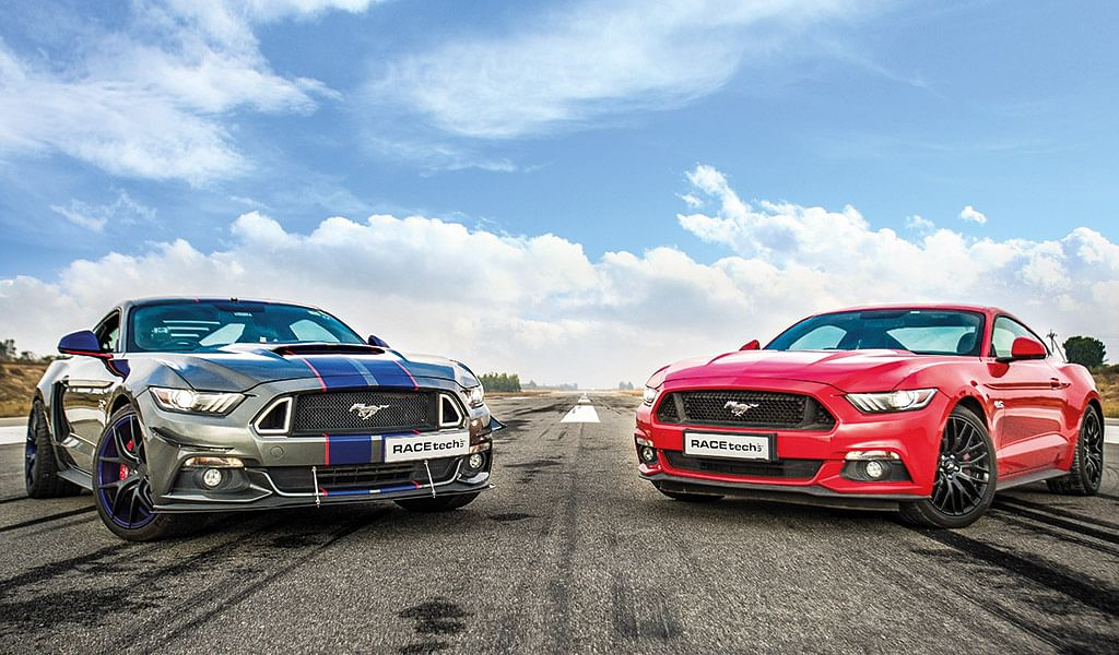 India's fastest Ford Mustang, the 717bhp Roush Performance Mustang GT