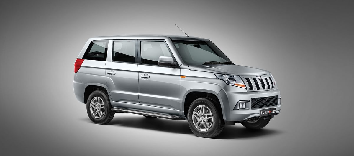 Mahindra launches its 9-seater TUV 300 Plus