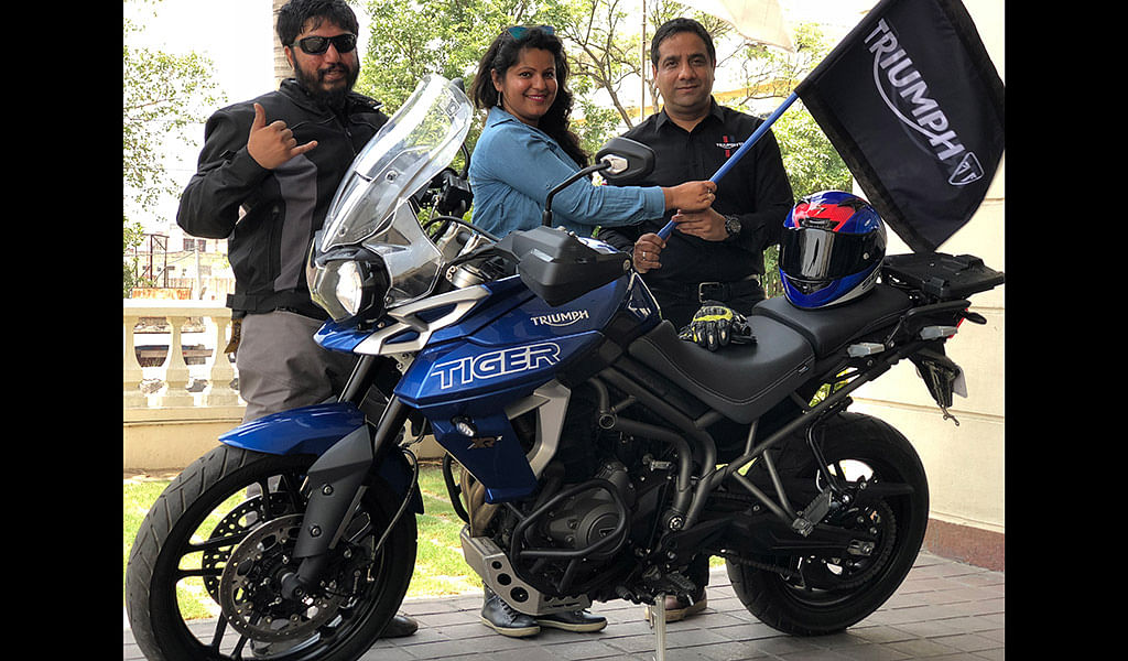 Triumph Motorcycles India starts its first ever road safety ride in the country