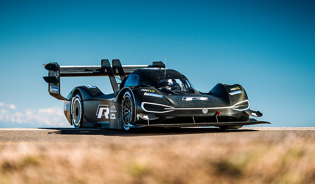Romain Dumas completes initial test of the Volkswagen I.D. R Pikes Peak