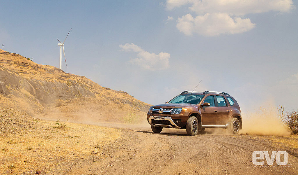 Getting high with the Renault Duster: Driving to the highest rally stage in Maharashtra