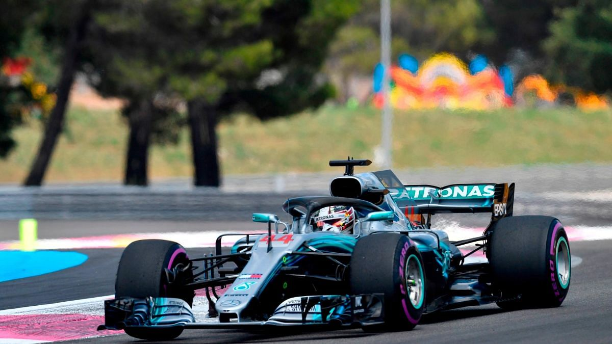 F1: Hamilton secures pole position at the first French GP held after a decade