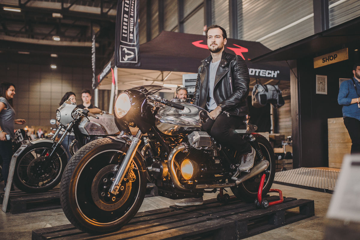 The Moto Guzzi V7 III Limited unveiled at Wheels and Waves, Biarritz