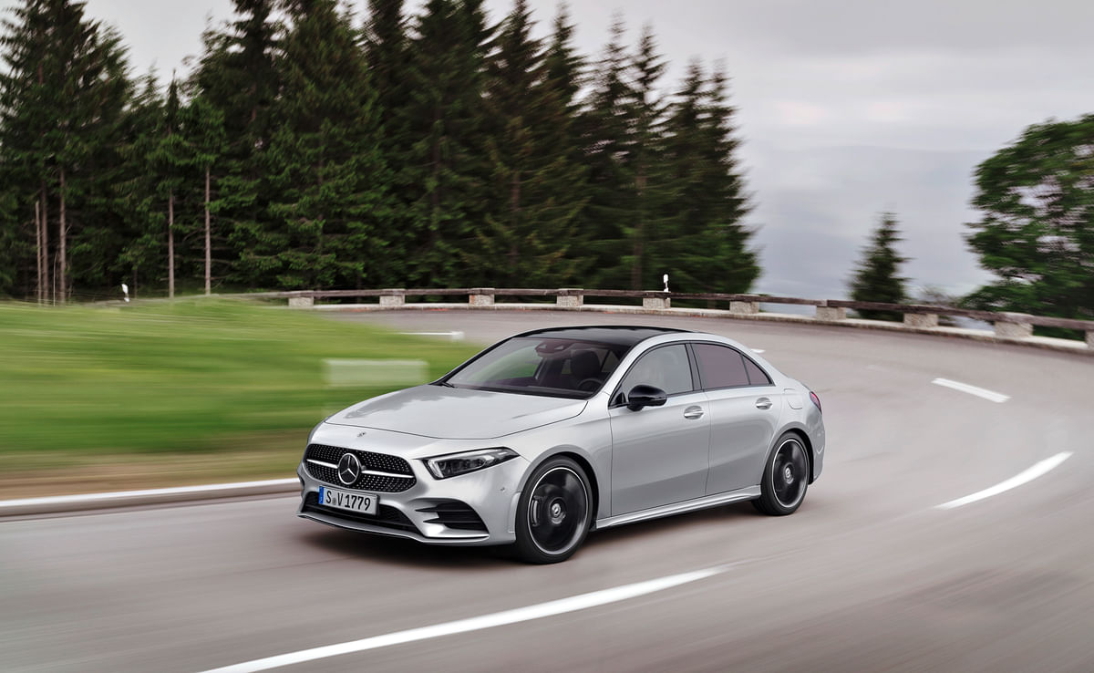 Mercedes-Benz reveals the all new A-Class compact sedan