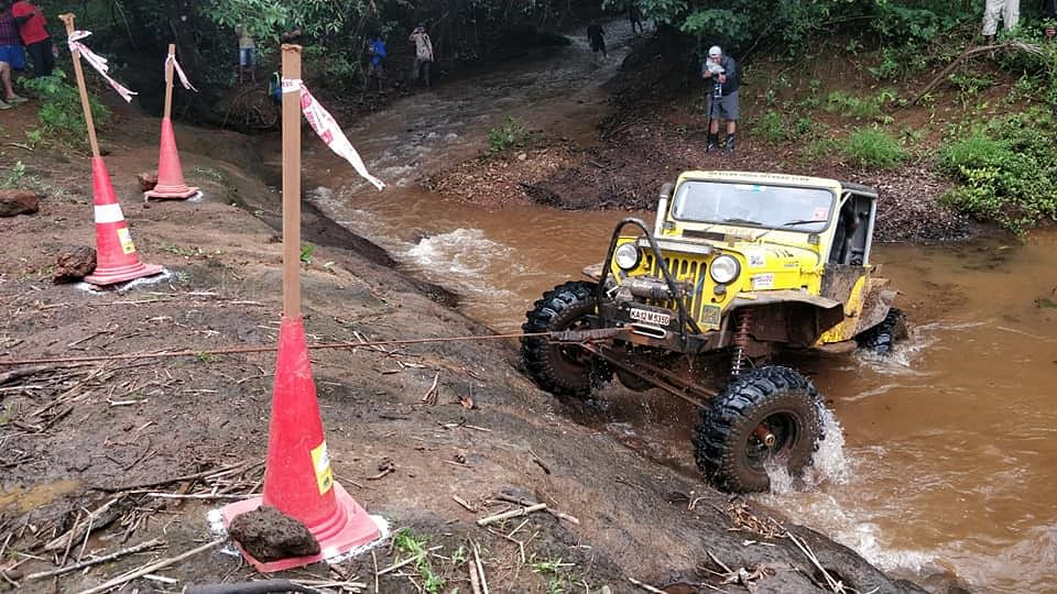Jagat and Chethan from V5 Offroaders win RFC India 2018