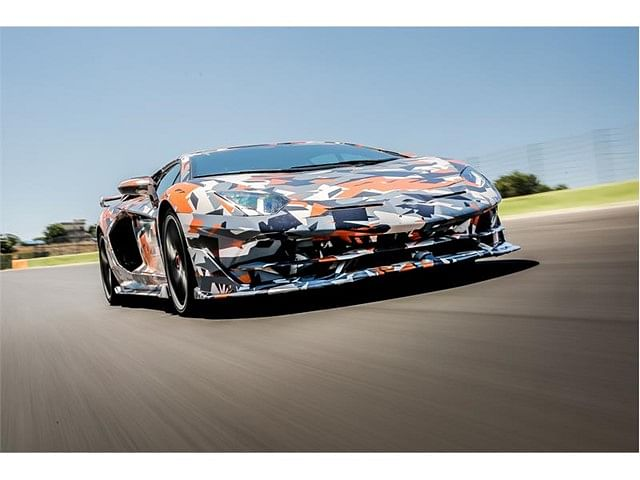 Lamborghini Aventador SVJ shatters the lap record for production cars at the 'Ring'