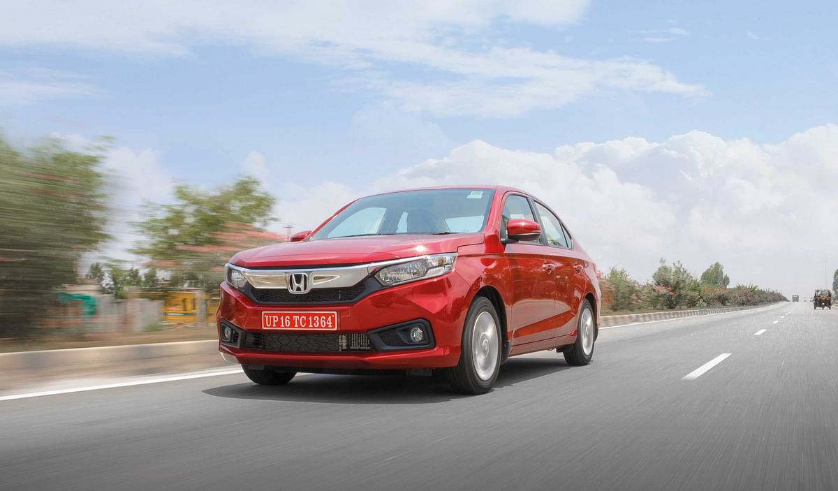 Honda issues a recall for the power steering sensor on the Amaze