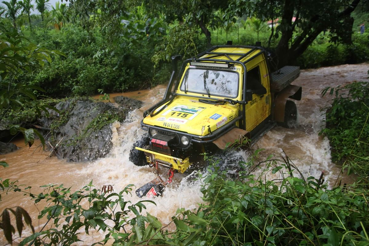 RFC India 2018: Sanbir Singh Dhaliwal and Gurpartap Singh Sandhu from Gerrari Offroaders finish on top after 5 stages