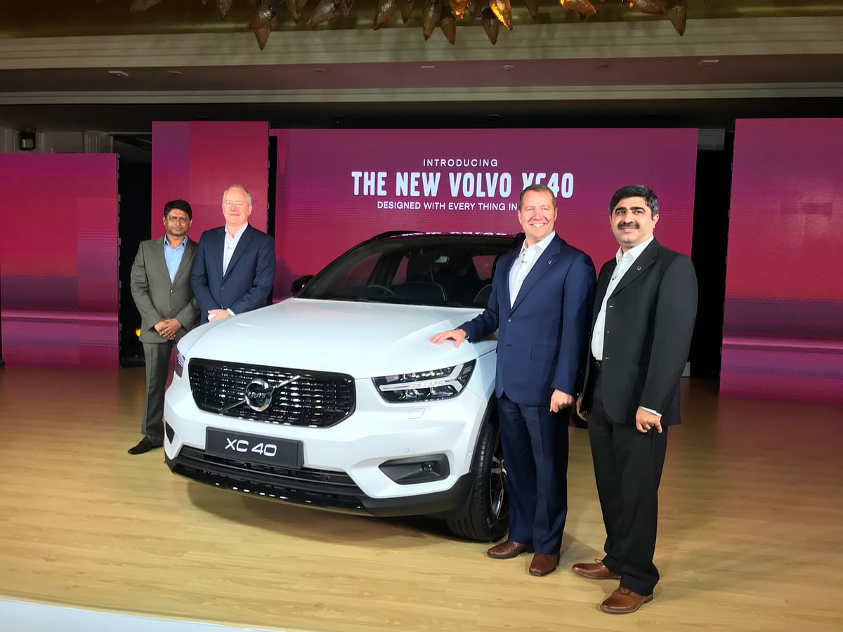Volvo has launched the XC40 in India at Rs 39.9 lakh