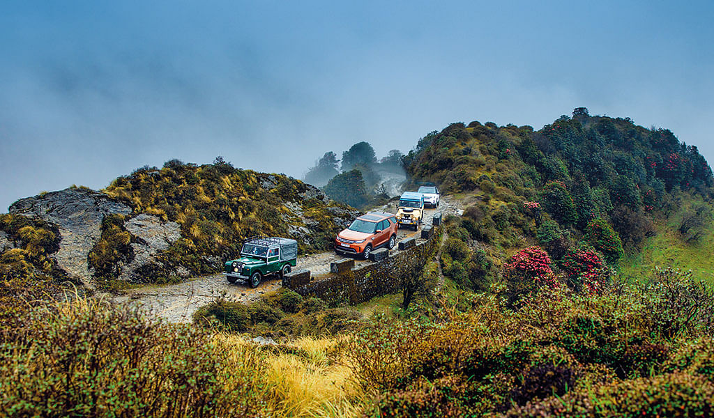 An epic birthday bash in the land of Land Rovers