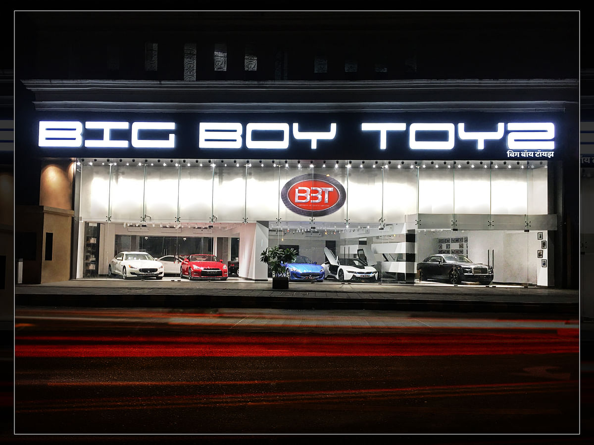 Big Boy Toyz launches its new digitally integrated showroom in Mumbai