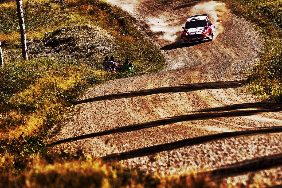 A successful outing for Team MRF Tyres at WRC's Rally Finland