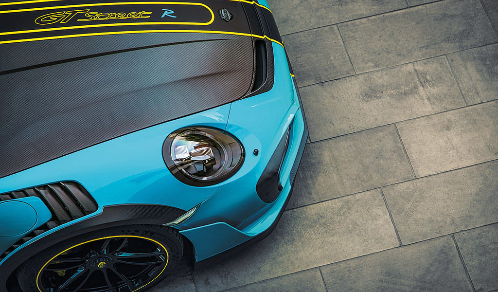 Porsche TechArt GTstreet R: The wildest Porsche in India