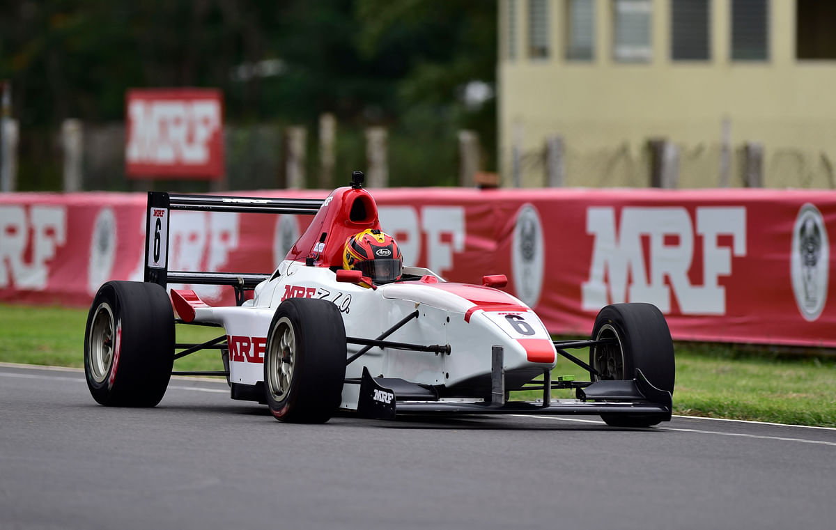 MRF NRC 2018: Sandeep Kumar grabs pole in the MRF F1600 class