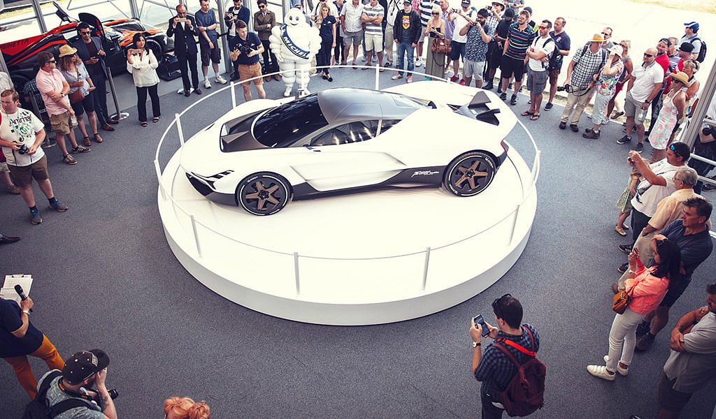 Vazirani Automotive showcases its hypercar concept at Goodwood Festival of Speed