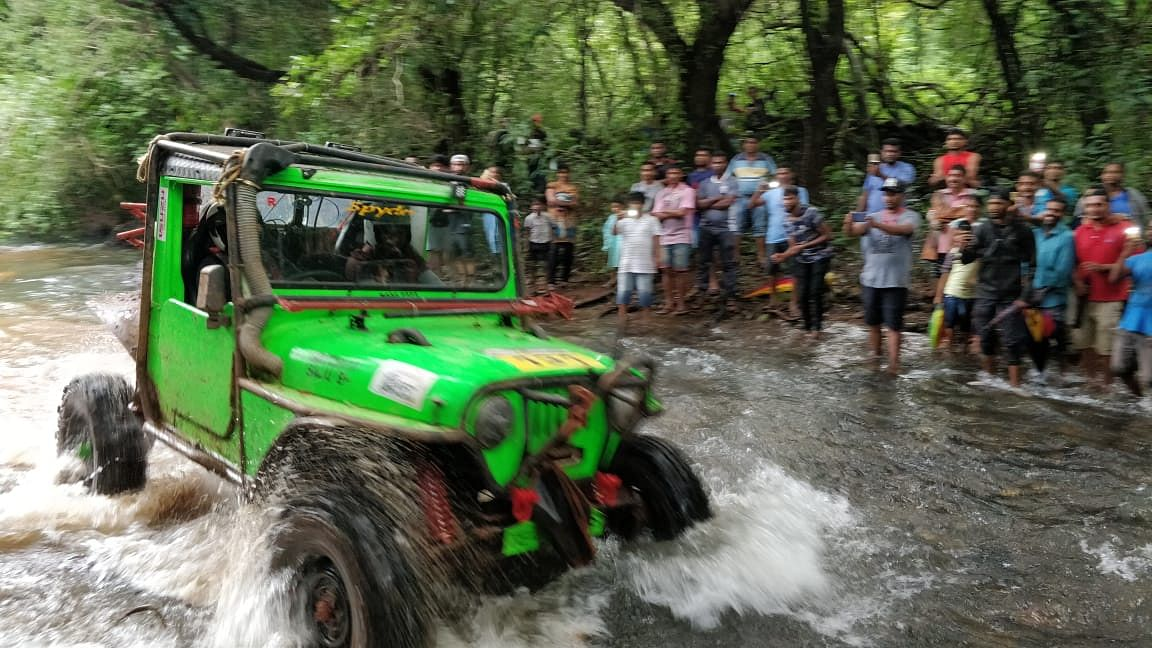 RFC India 2018: Jagat and Chethan continue to lead on day 5