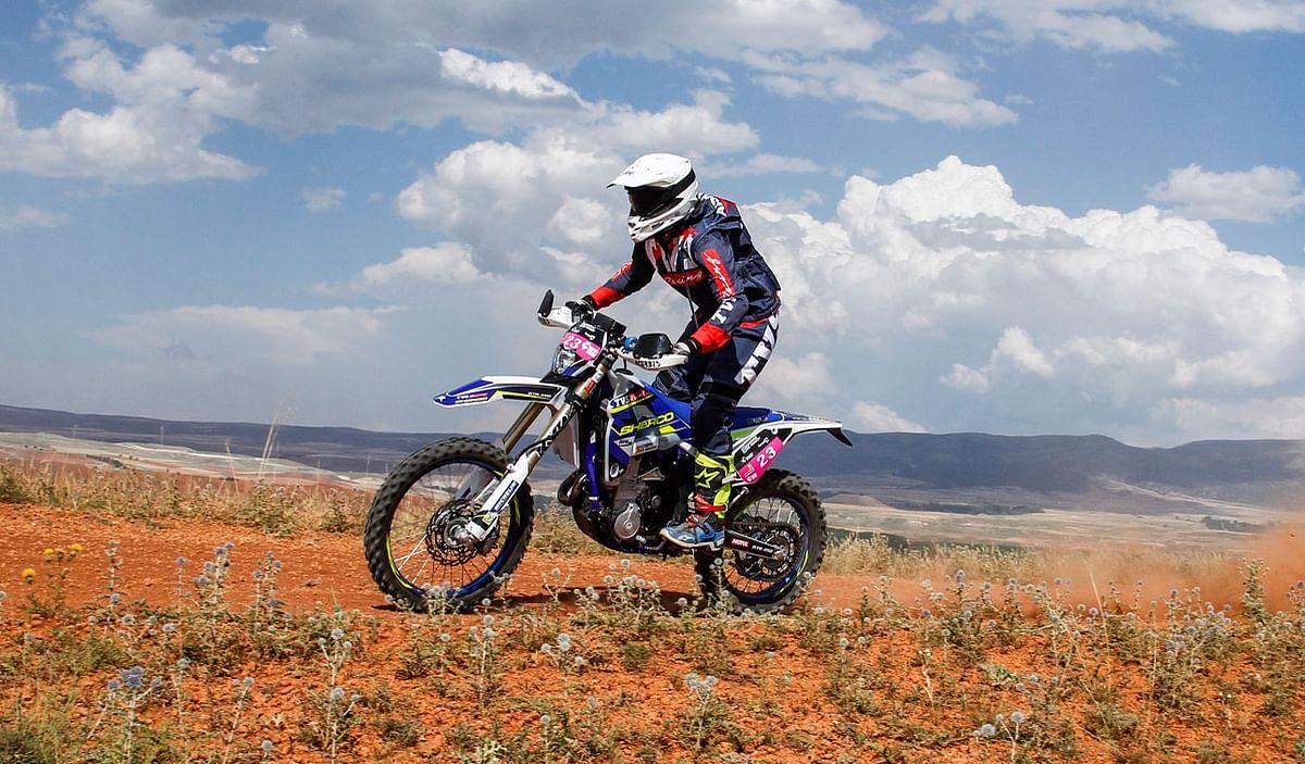 Sherco TVS Rally Team wins big at the Baja Aragon Rally 2018