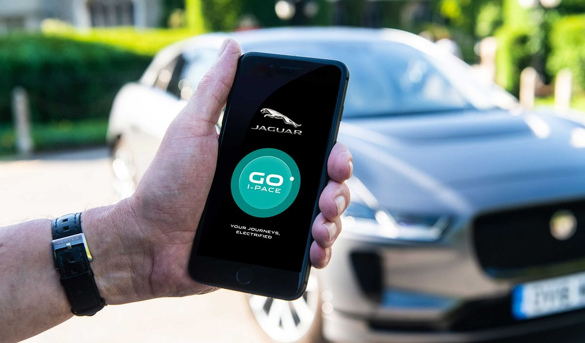 Jaguar launches its Go I-Pace app