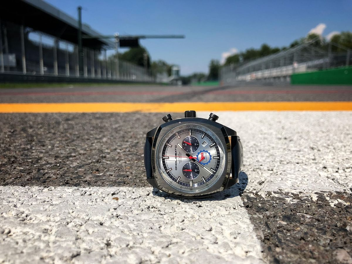 Omologato launches 'The Official Monza Chronograph'  limited edition watch