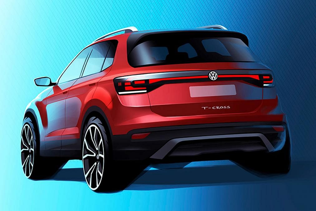 Volkswagen teases new family friendly SUV – The 'T-Cross'