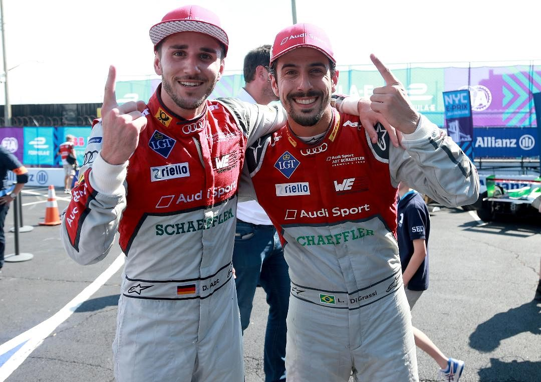 Audi Sport ABT team clinches the Formula E title