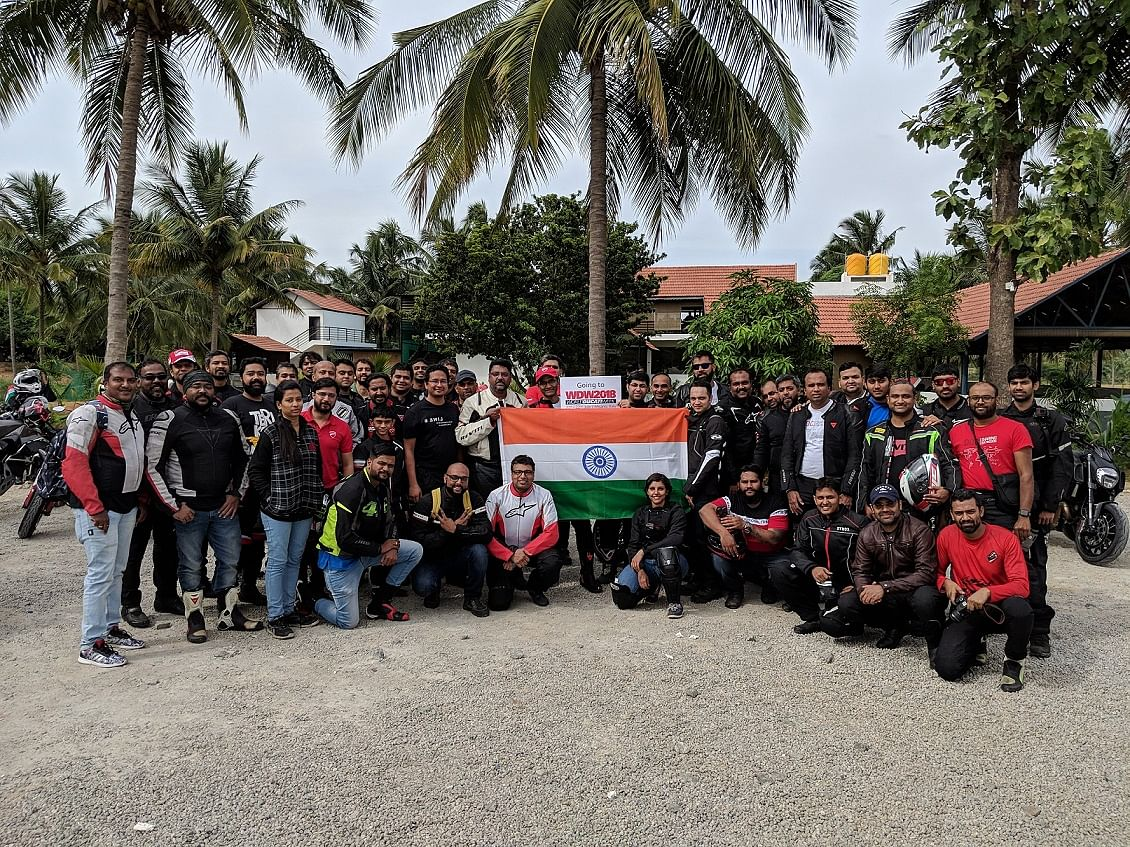Ducati India to celebrate Independance day by supporting an NGO