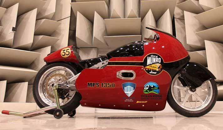 Indian Motorcycle and Lee Munro to attempt a 200mph run at Speed Week