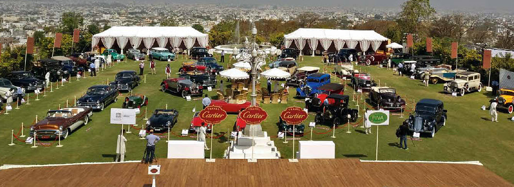 Sixth edition of Cartier Concours d'Elegance to be held in Jaipur next year