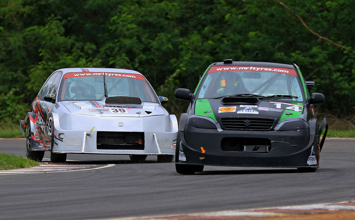 MRF National Racing Championship 2018 – Round four , Race day two