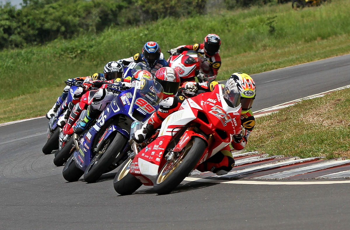 Round four of the Asia Road Racing Championship 2018 to be held at MMRT
