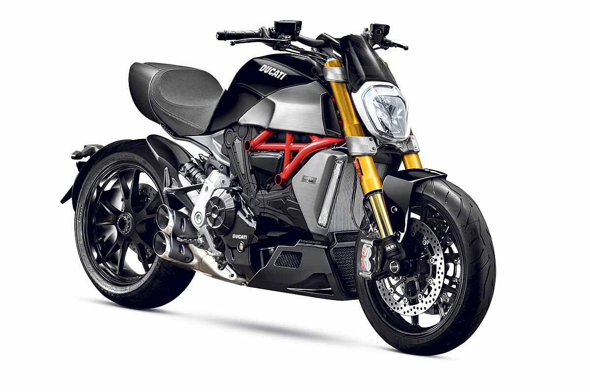 Ducati previews new gen Diavel 1260 S