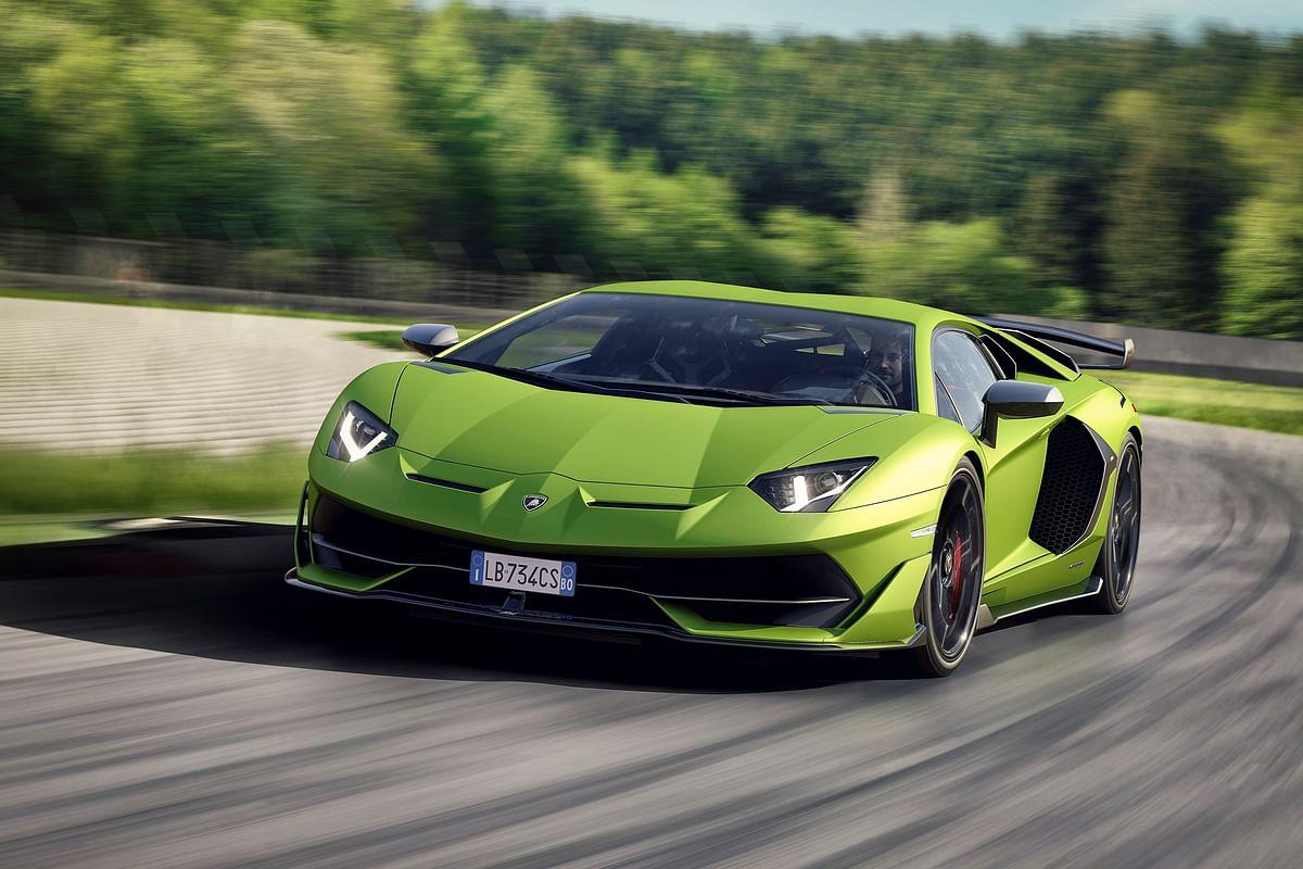 Lamborghini Aventador SVJ unveiled